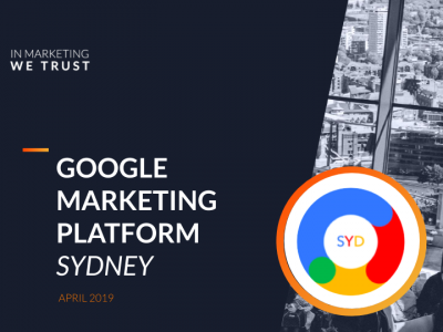 Understanding Search Intent in Google - Google Marketing Platform Sydney